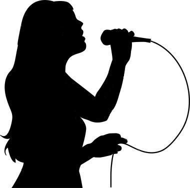 Singer clipart videoke Singing Live Cliparts Clipart Machine