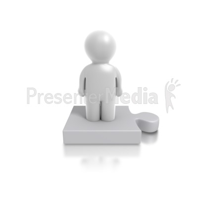 Single clipart PowerPoint Great Person Clipart and