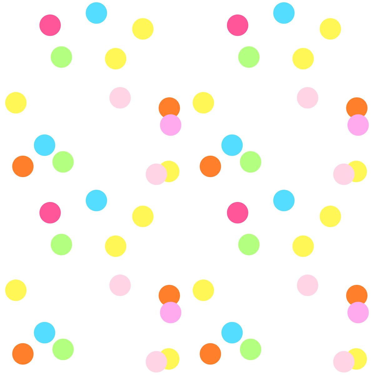 Dots clipart confetti Paper confetti  paper ausdruckbares