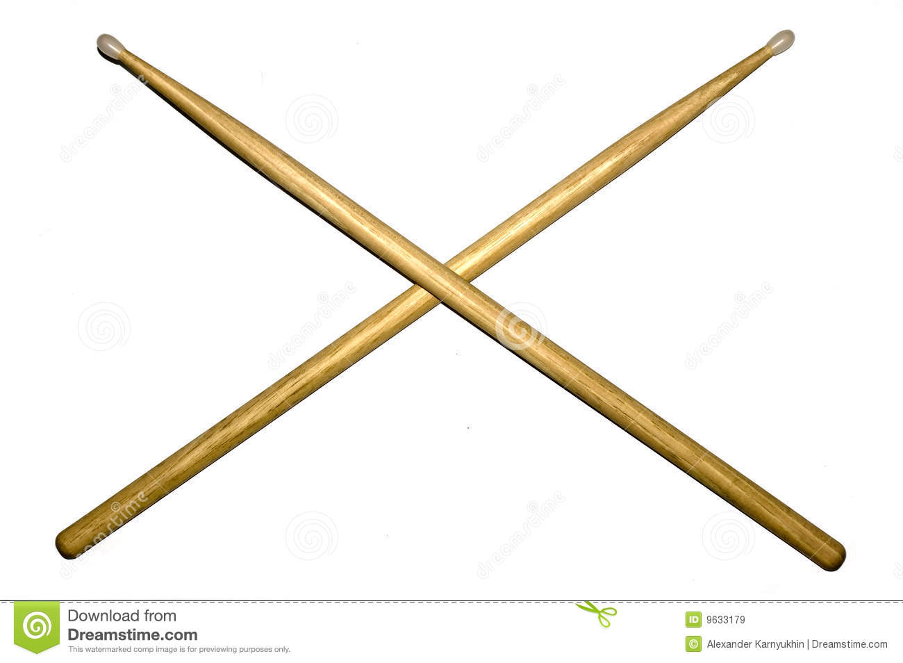 Musical clipart drumstick #1