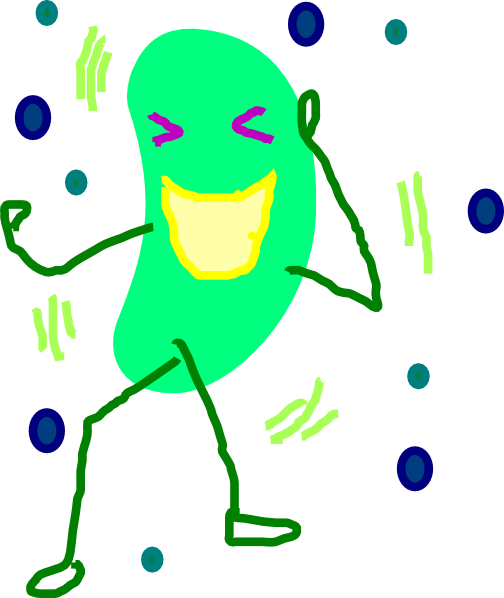 Single clipart green bean Jelly Green Bean Jelly Clip