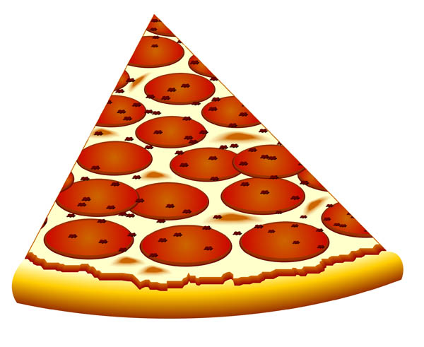 Pizza clipart clear background Pepperoni Cheese pizza slice clipart