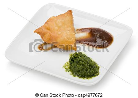 Single clipart samosa And on mint of samosa