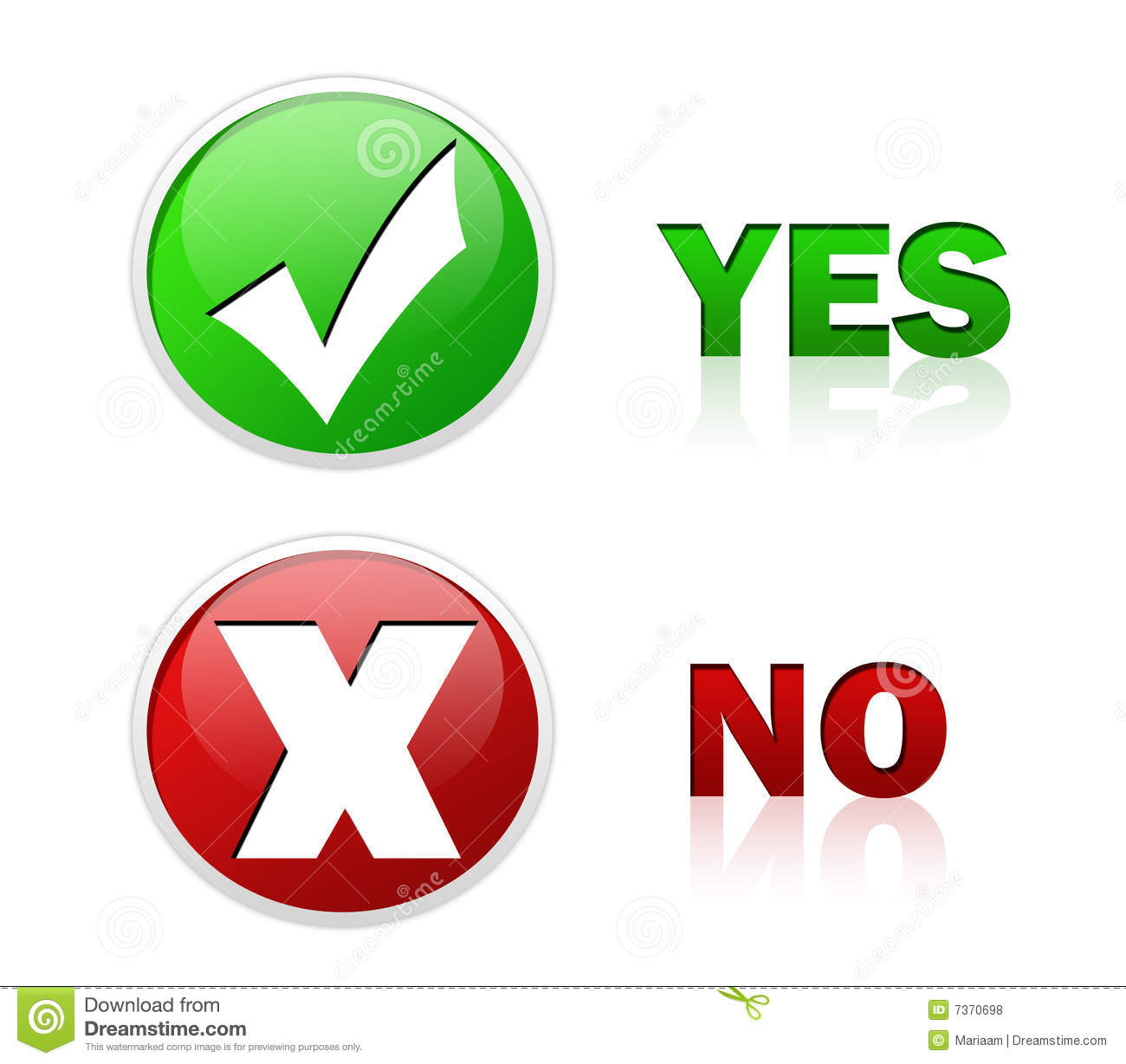 Button clipart yes and no Yes clipart 123 – 16