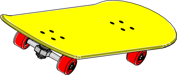 Skateboard clipart adolescent Clip image this clip royalty