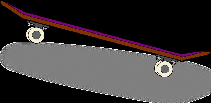 Skateboard clipart Free Art Clip Domain Art