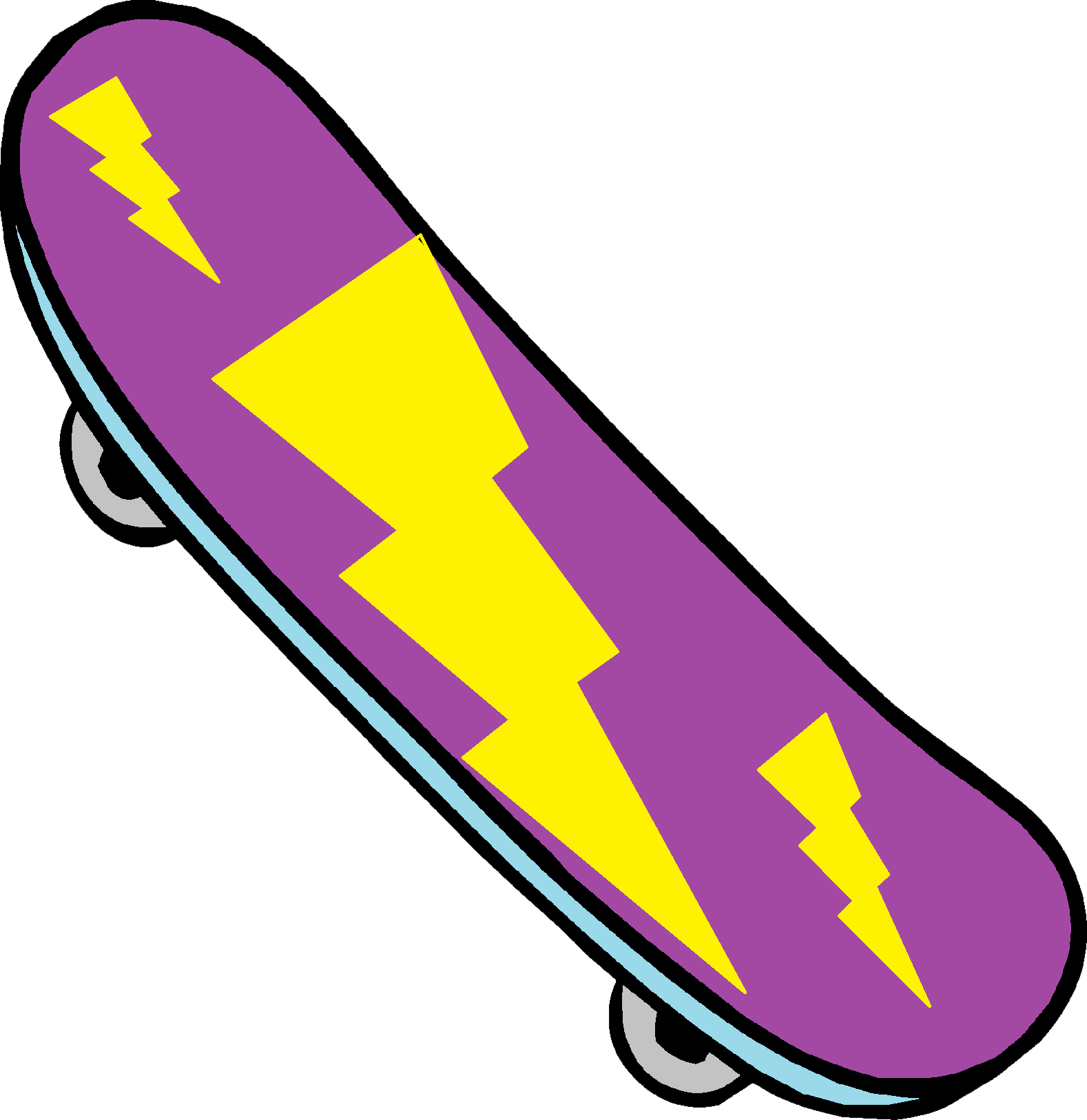 Skateboard clipart adolescent Clip clipart cartoon Skateboard Art