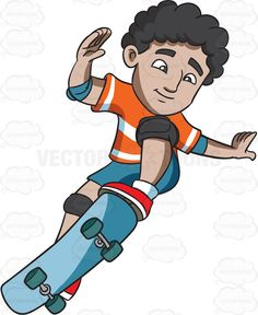 Skateboard clipart adolescent His teenager confident Search #