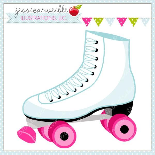 Blue clipart roller skate Roller Clip clip skate Roller