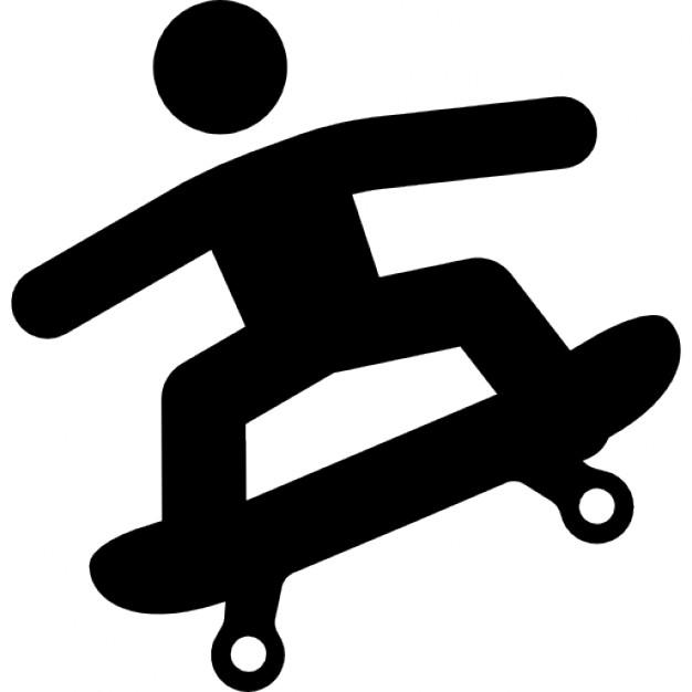 Skateboard clipart side view Free Download Icon Skateboard Skateboard