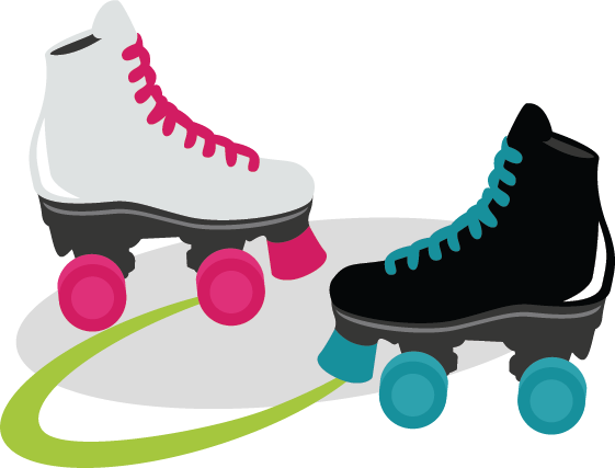 Party clipart roller skate Skate Collection Clipart Art Roller