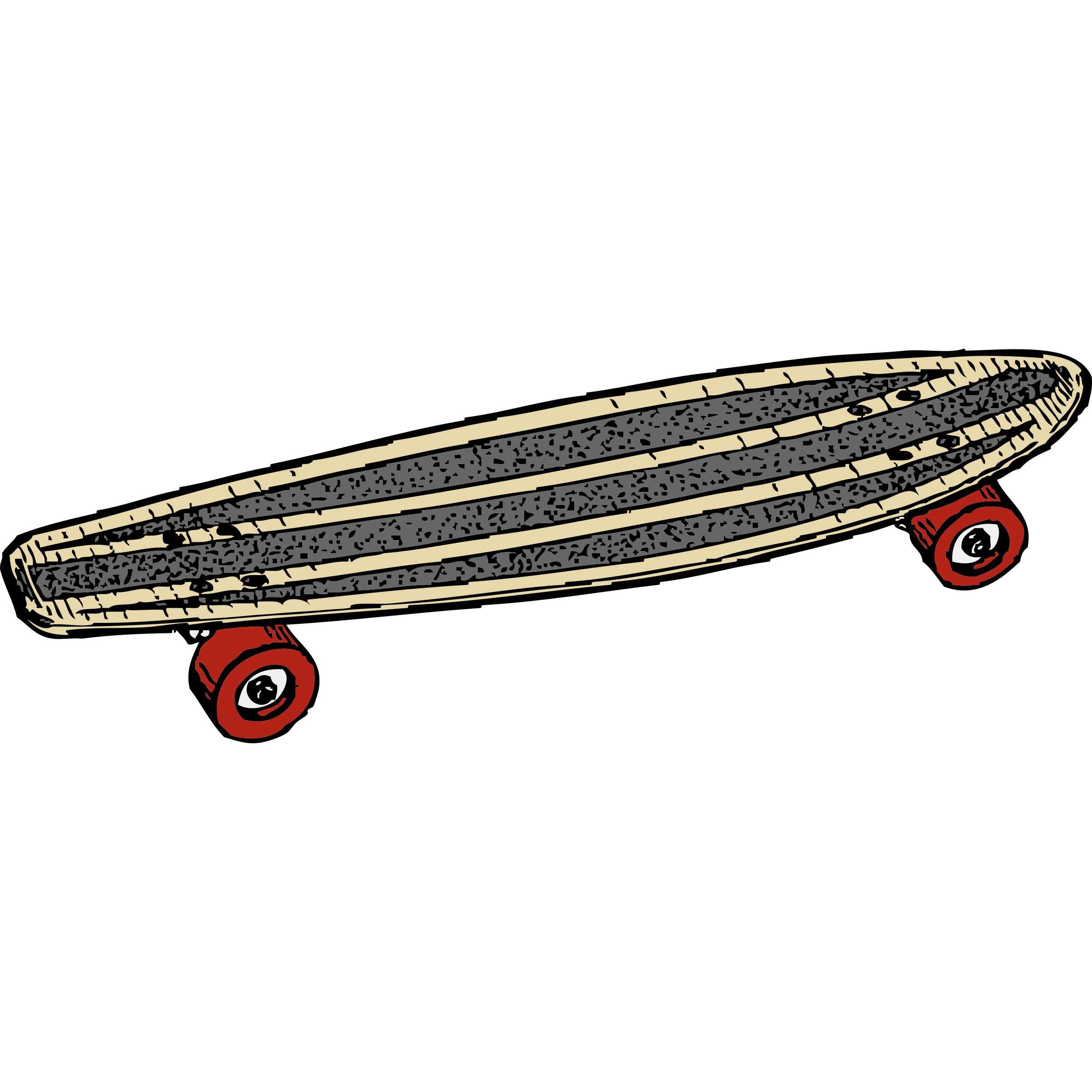 Skateboard clipart transparent Skateboard Clipartix image concentrate skateboarding