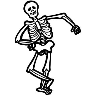 Bones clipart long Free Skeleton Panda Images Skeleton
