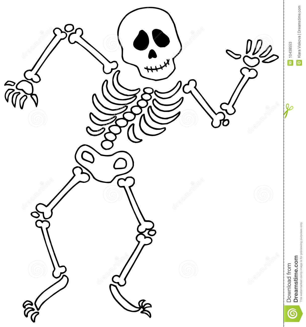 Sleleton clipart Clipart drawings Skeleton Download Skeleton