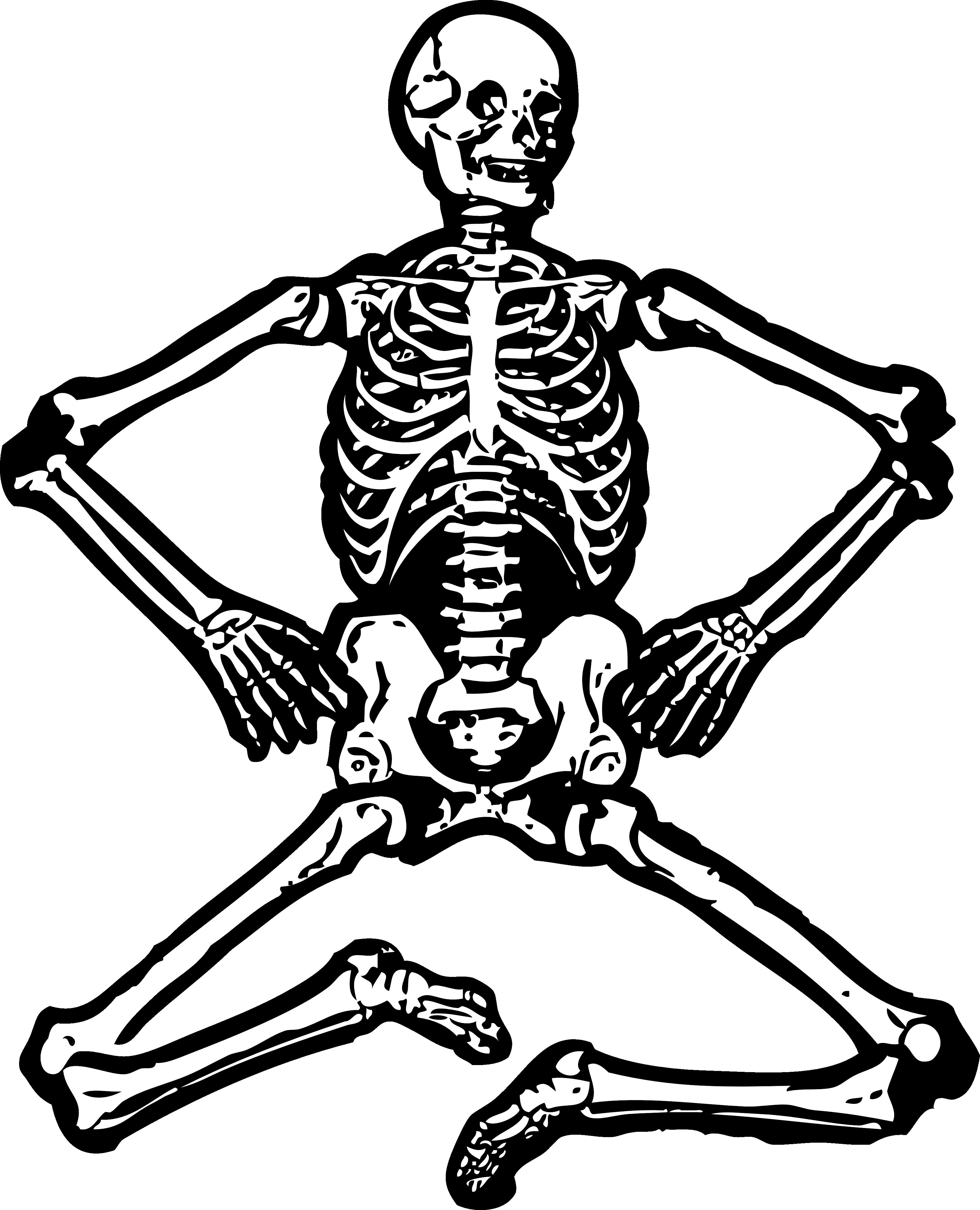 Sleleton clipart Free Clip Art Skeleton Skeleton