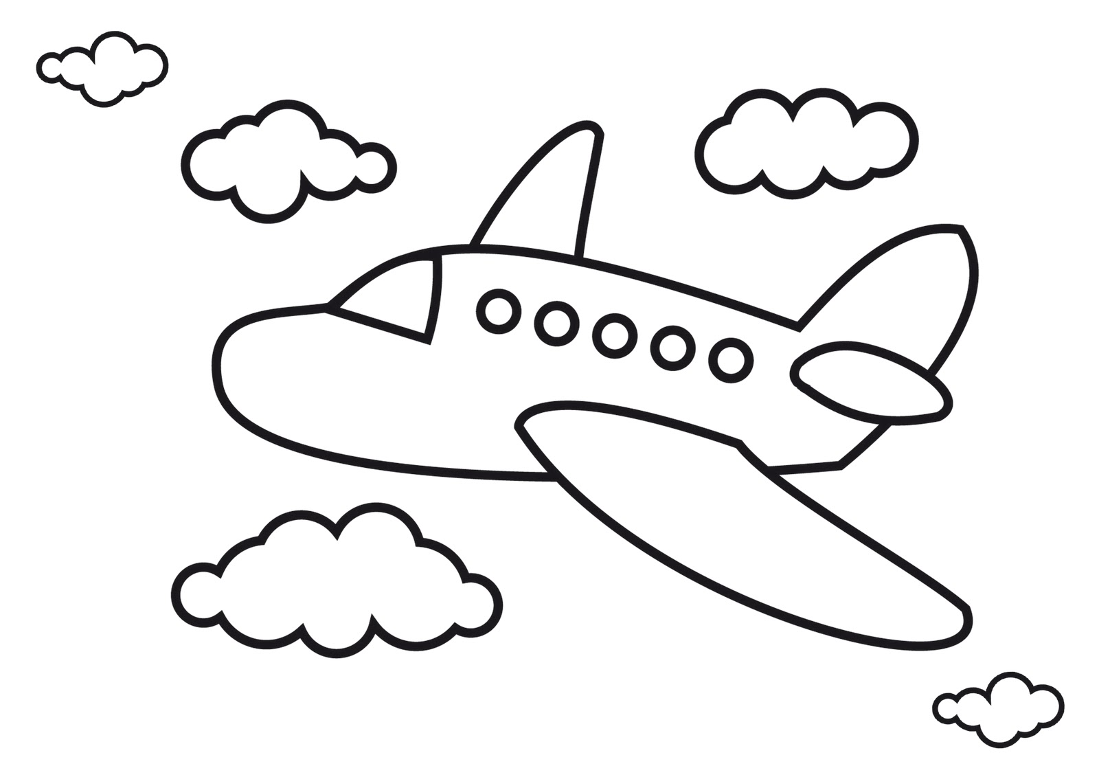 Sketch clipart areoplane Clip Airplane Download Drawing on
