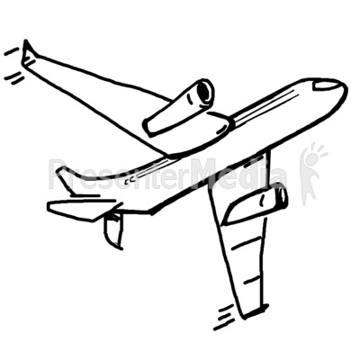 Drawn airplane airplane flying Sketch Clipart Airplane airplane the