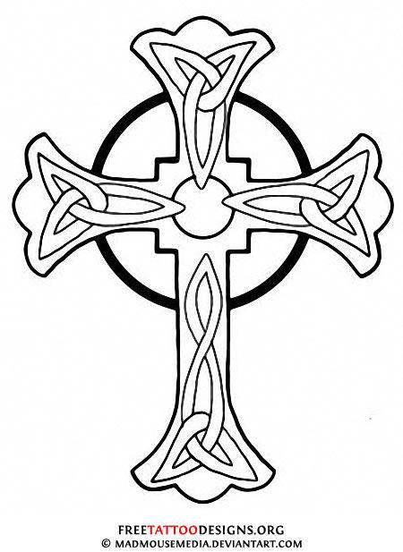 Irish clipart gothic cross Sketch Art Sketches Of Croses