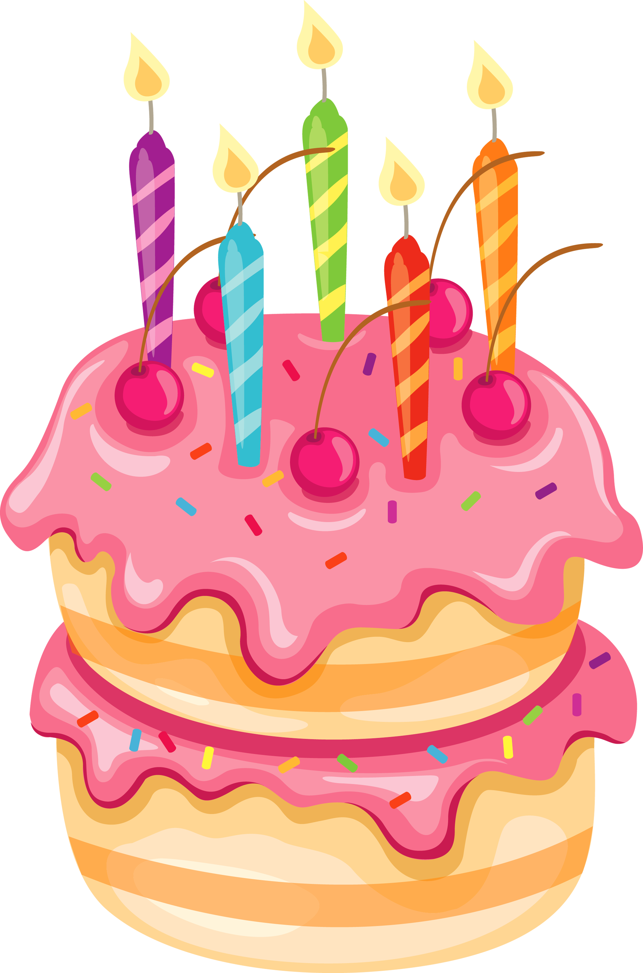 Biscuit clipart fancy With Clipart Cake Cake Birthday