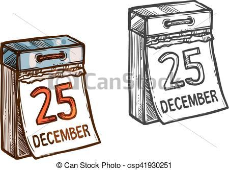Sketch clipart calendar Icon calendar Clipart date sketch