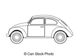 Sketch clipart car Car Isolated sketch  of