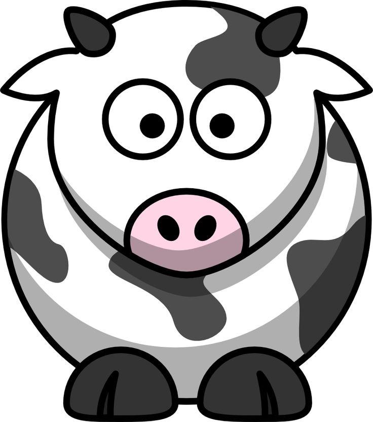 Sketch clipart cartoon Best cow onlinelabels com/contests/clipart Cartoon