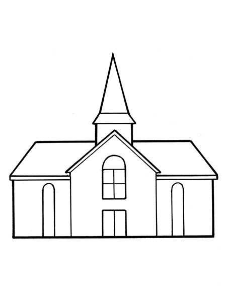 Sketch clipart church The on 578 Right 42: