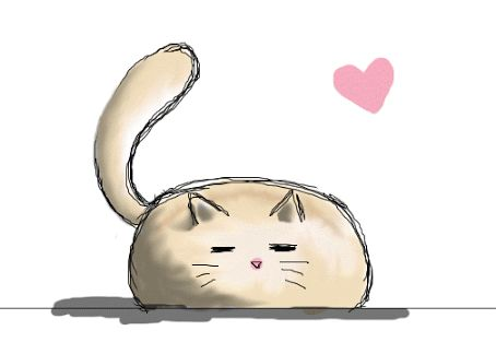 Sketch clipart cute cat Draw to a cute on