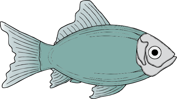 Fins clipart fish food Clipart vector art Cute sketch