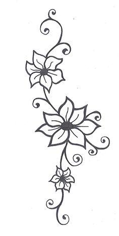 Drawn background flower designer Simple draw cool draw flower