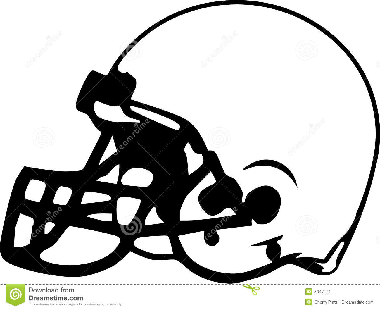Sketch clipart football Free Clipart Helmet View Front