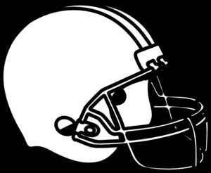 Sketch clipart football Helmet Clipart Helmet White Clipart
