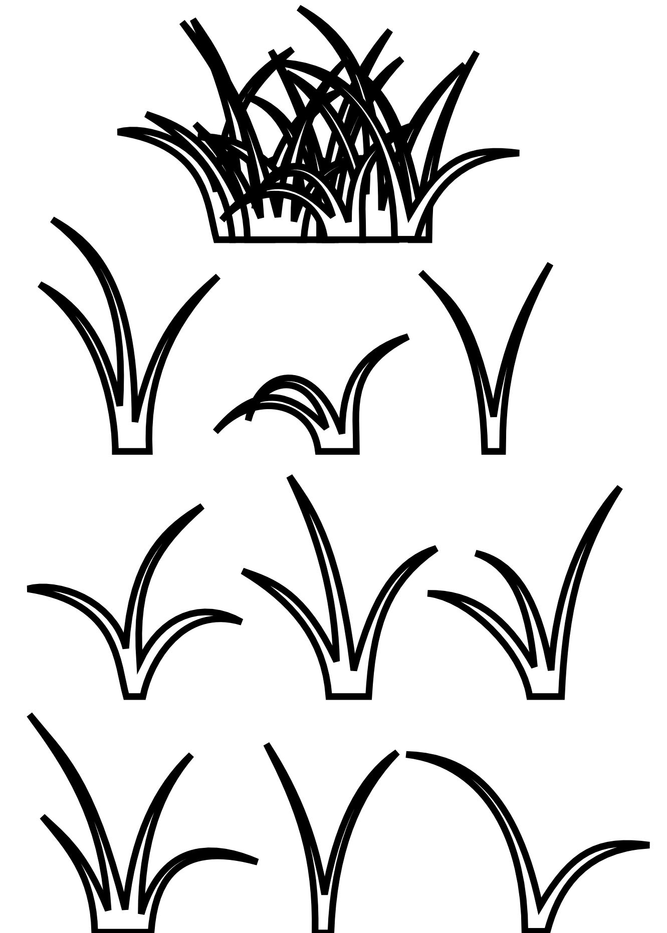 Sketch clipart grass And Download Free Clipart Clipart