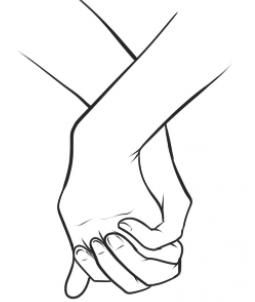 Sketch clipart holding hand Best Pinterest hands Holding ideas