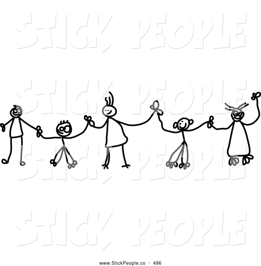 Sketch clipart holding hand Hands Black Clipart Black in