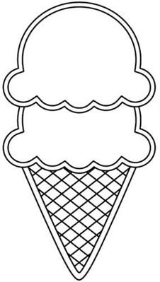 Sketch clipart ice cream Best clip this art and