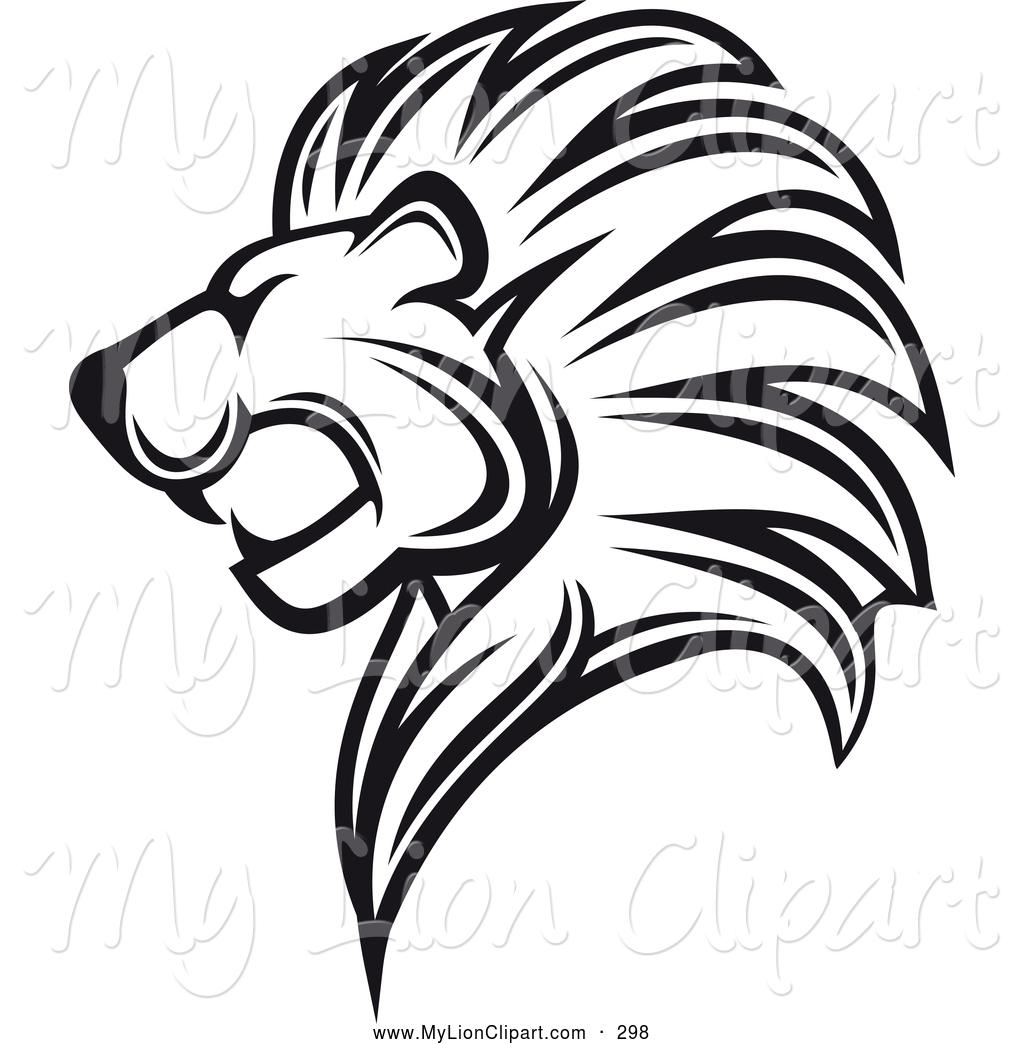 Sketch clipart lion profile Clipart Clipart Free Clipart Panda