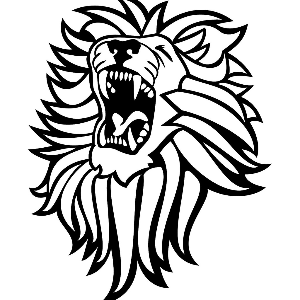 Beast clipart lion roar Clip Art Download Clipart Vector