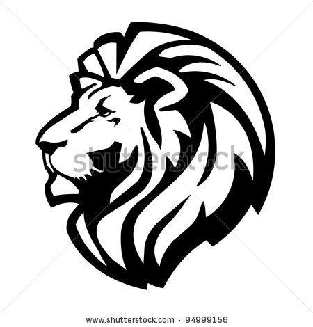 Sketch clipart lion profile Best on possible stencil Pinterest