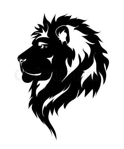 Sketch clipart lion profile Lion Free Clip Art