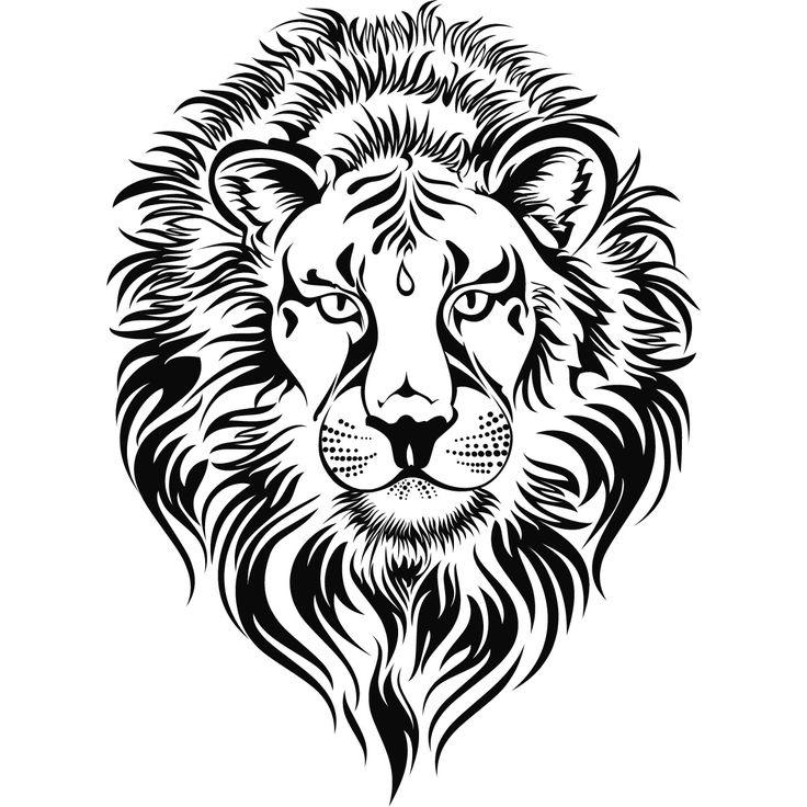 Sketch clipart lion profile Free drawing Roaring Art Panda