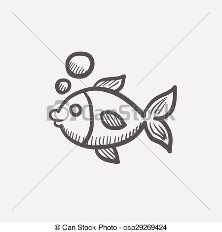 Sketch clipart little Water web under water sketch