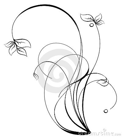 Sketch clipart orchid Panda Art Free Clip Orchid
