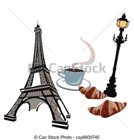 Sketch clipart paris Of Clipart street Vector Eiffel