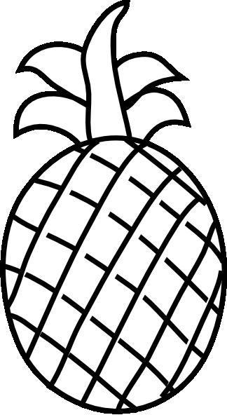 Monochrome clipart pineapple Pineapple%20clipart Panda Clipart  White
