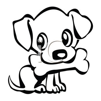Sketch clipart puppy kitten Google  Pinterest Search Search