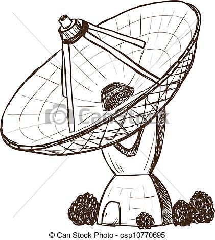 Sketch clipart radio Sketch sketch style of csp10770695
