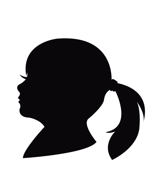 Sketch clipart side profile face Face clip art Man