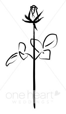 Sketch clipart simple Rose Rose Clipart Rose Sketch