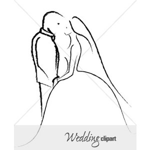 Sketch clipart simple Couples Groom a Sketch Simple